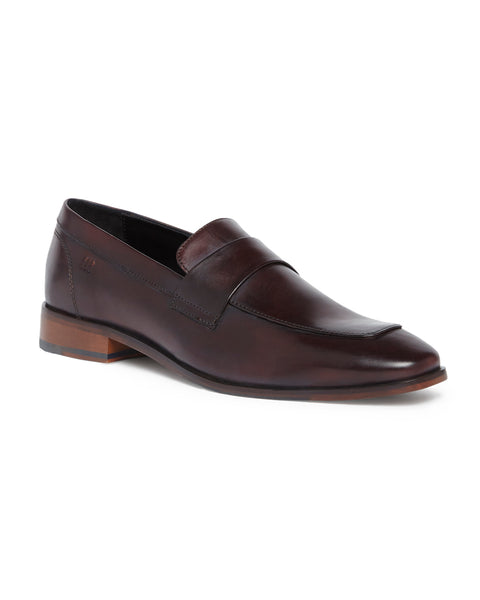Raymond Dark Red Regular Fit Footwear