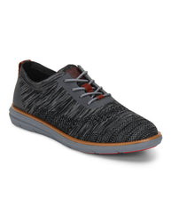 Raymond Dark Grey Casual Shoes