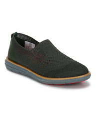 Raymond Dark Green Casual Shoes