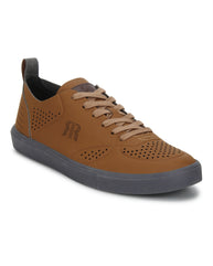Raymond Dark Khaki Casual Shoes