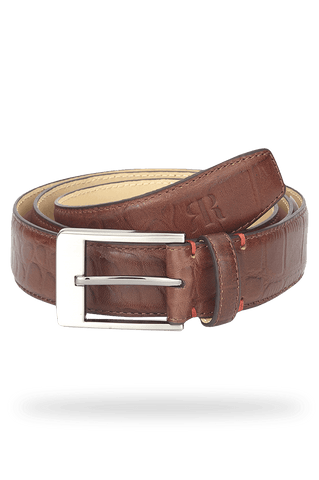 Raymond Dark Brown Regular Fit Belt