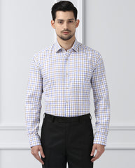 Next Look Medium Blue Slim Fit Shirt