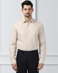 Next Look Medium Yellow Slim Fit Shirt