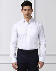 Next Look White Slim Fit Shirt