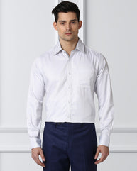 Next Look Medium Grey Regular Fit Shirt