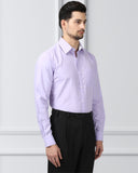 Next Look Medium Violet Regular Fit Shirt