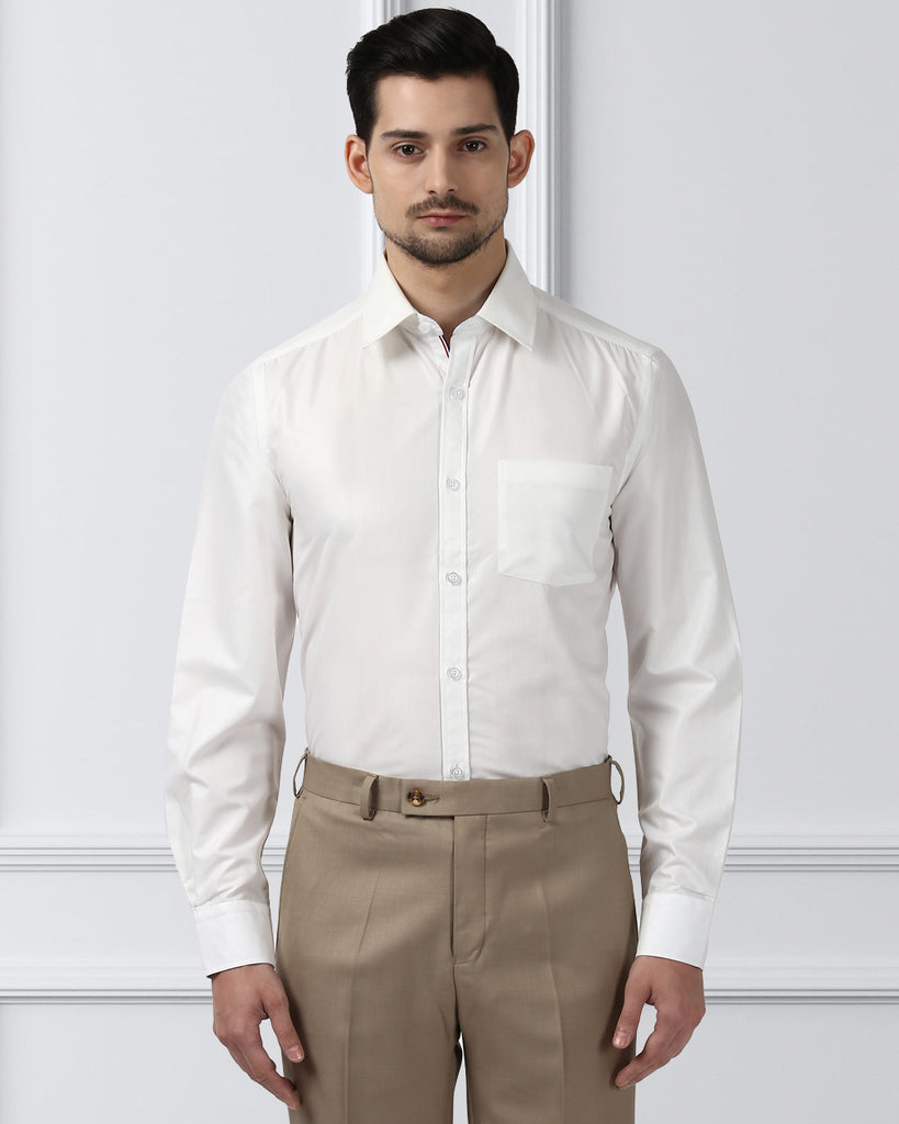 Next Look White Regular Fit Shirt