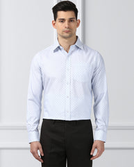 Next Look Medium Blue Regular Fit Shirt