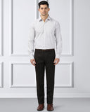 Next Look Dark Brown  Slim Fit Shirt