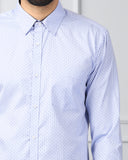 Next Look Blue Slim Fit Shirt