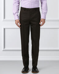 Next Look Brown Regular Fit Trouser