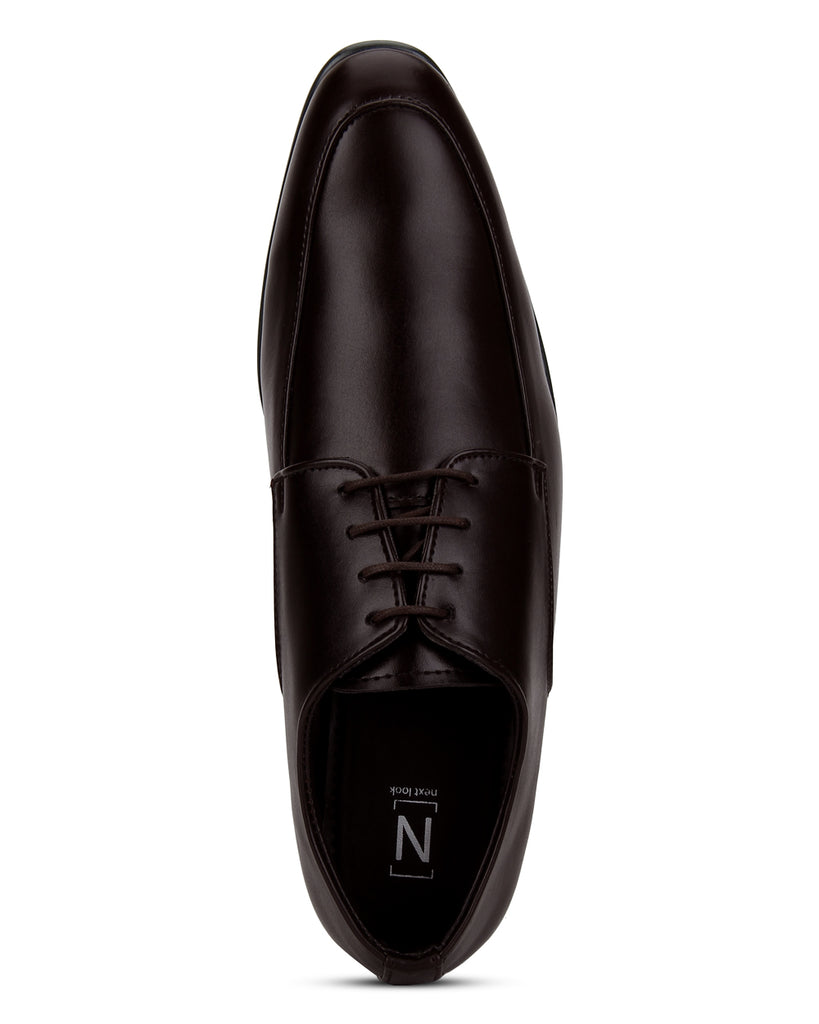 Next Look Brown Formal Shoes