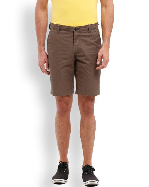 Parx  Brown Resort Fit Shorts