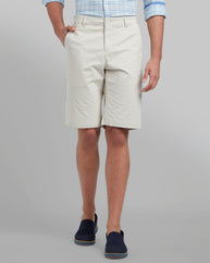 Parx Brown Regular Fit Shorts