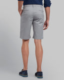 Parx Grey Regular Fit Shorts
