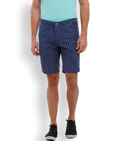 Parx Black Regular Fit Shorts