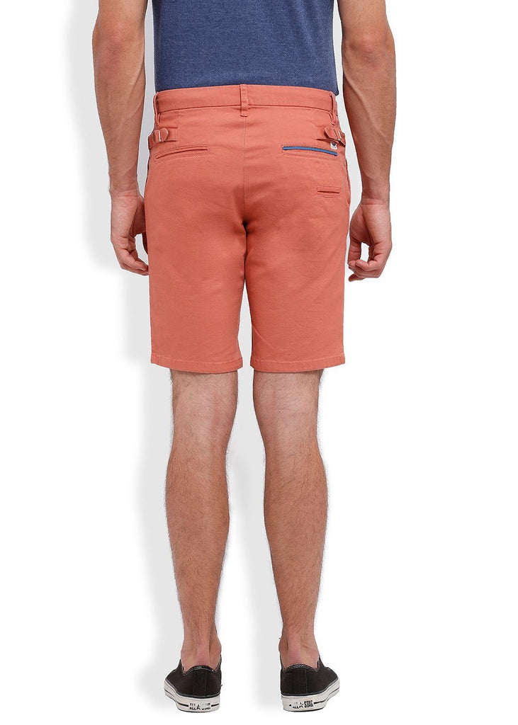 Parx Red Regular Fit Shorts