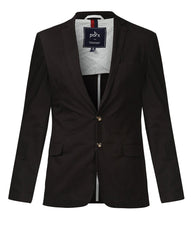 Parx Brown Slim Fit Jacket
