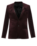 Parx Brown Regular Fit Blazer
