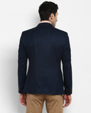 Parx Dark Blue Urban Fit Blazer