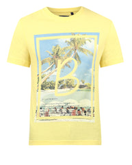 Parx Medium Yellow Regular Fit T-Shirt