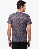 Parx Violet Regular Fit T-Shirt