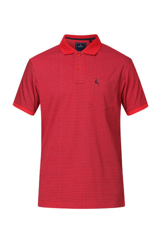 Parx Medium Red Regular Fit T-Shirts