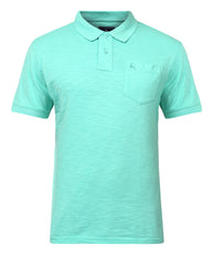 Parx Medium Green Regular Fit T-Shirt