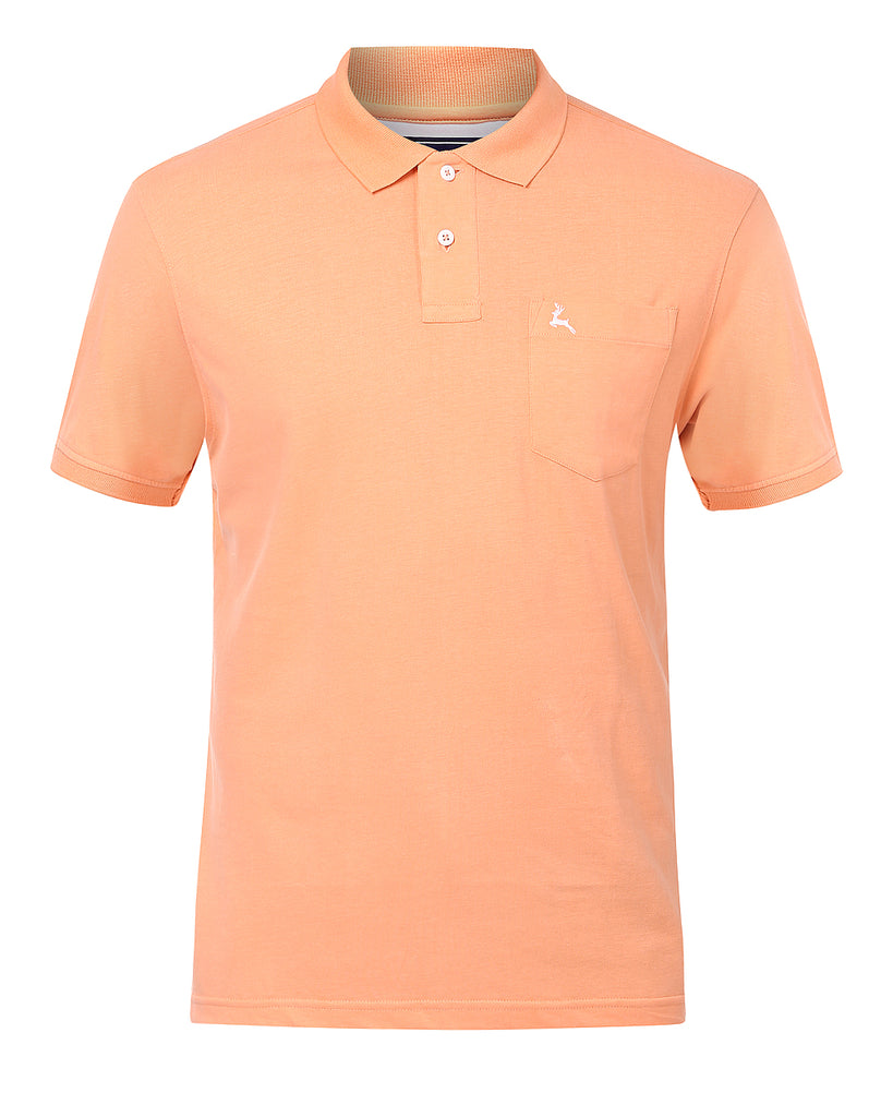 Parx Peach Regular Fit T-Shirt