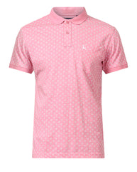 Parx Pink Regular Fit T-Shirt