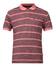 Parx Maroon Regular Fit T-Shirt