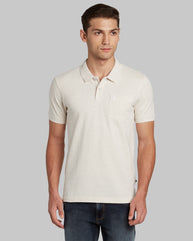 Parx Light Fawn Regular Fit T-Shirt