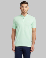 Parx Light Green Regular Fit T-Shirt