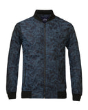 Parx Blue Regular Fit Jacket