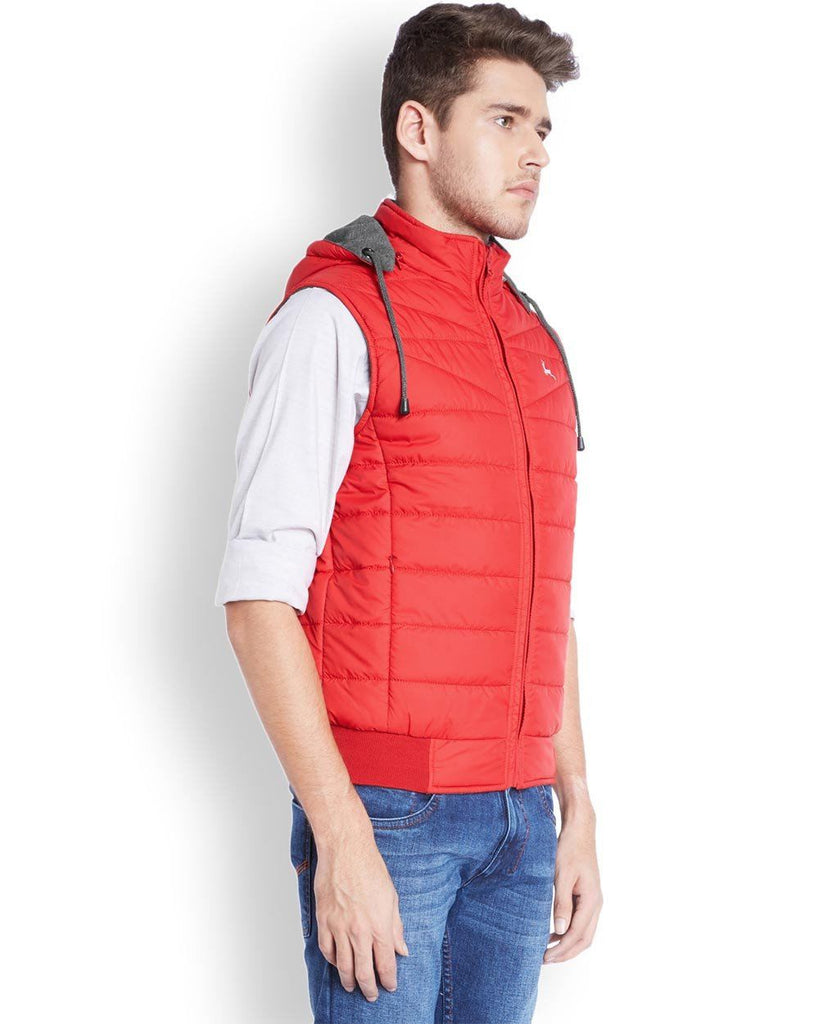 Parx  Red Regular Fit Outerwear