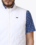 Parx White Regular Fit Jacket