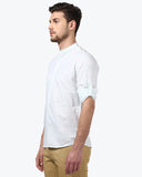 Parx Green Slim Fit Shirt