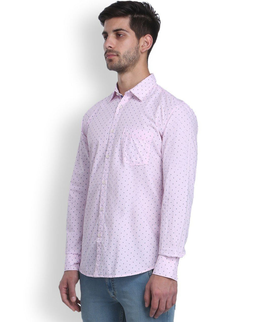 Parx Red Slim Fit Shirt