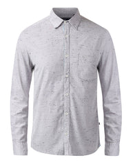 Parx Medium Grey  Slim Fit Shirt