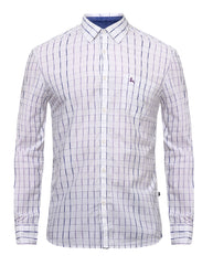 PARX Violet Slim Fit Shirt