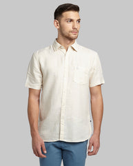 Parx Medium Fawn Slim Fit Shirt