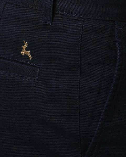 Parx Dark Blue Slim Fit Trouser