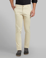 Parx Light Khaki Tapered Fit Trouser