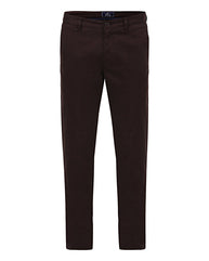 Parx Dark khaki Slim  Trouser