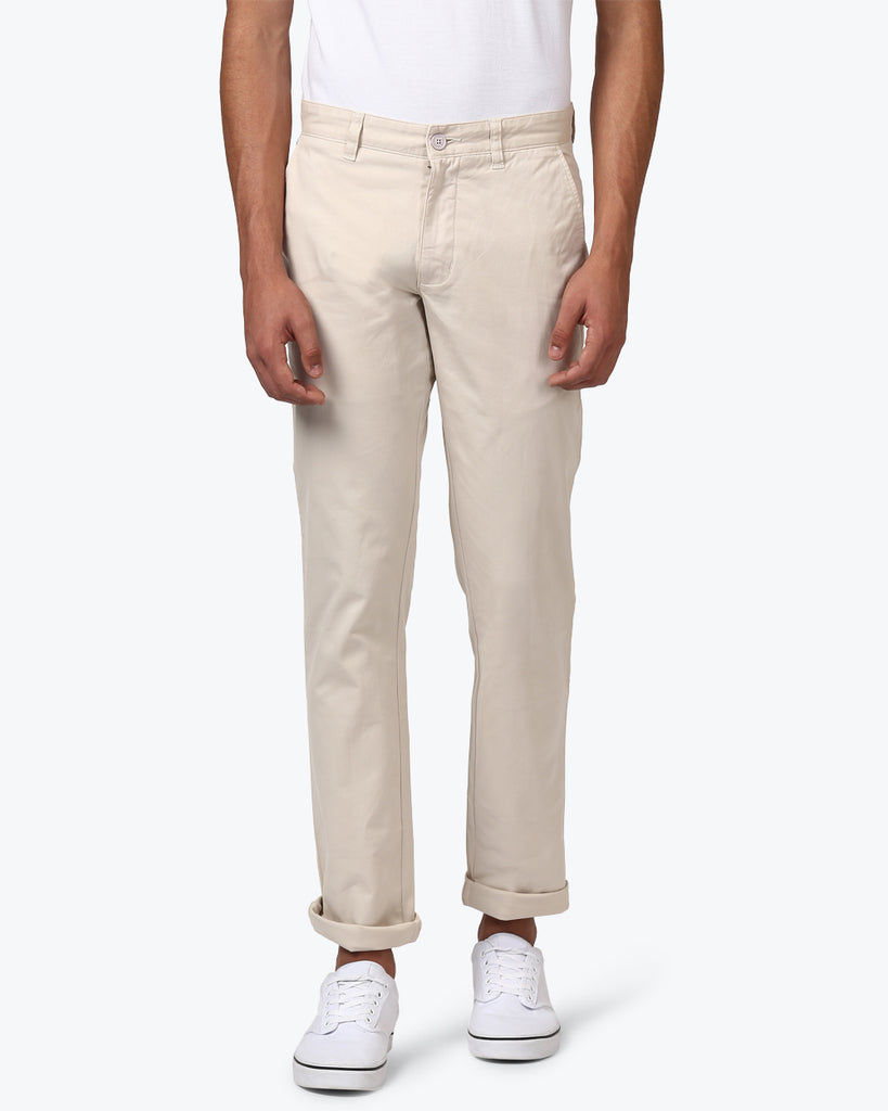 Parx Medium Stone Tapered Fit Trouser