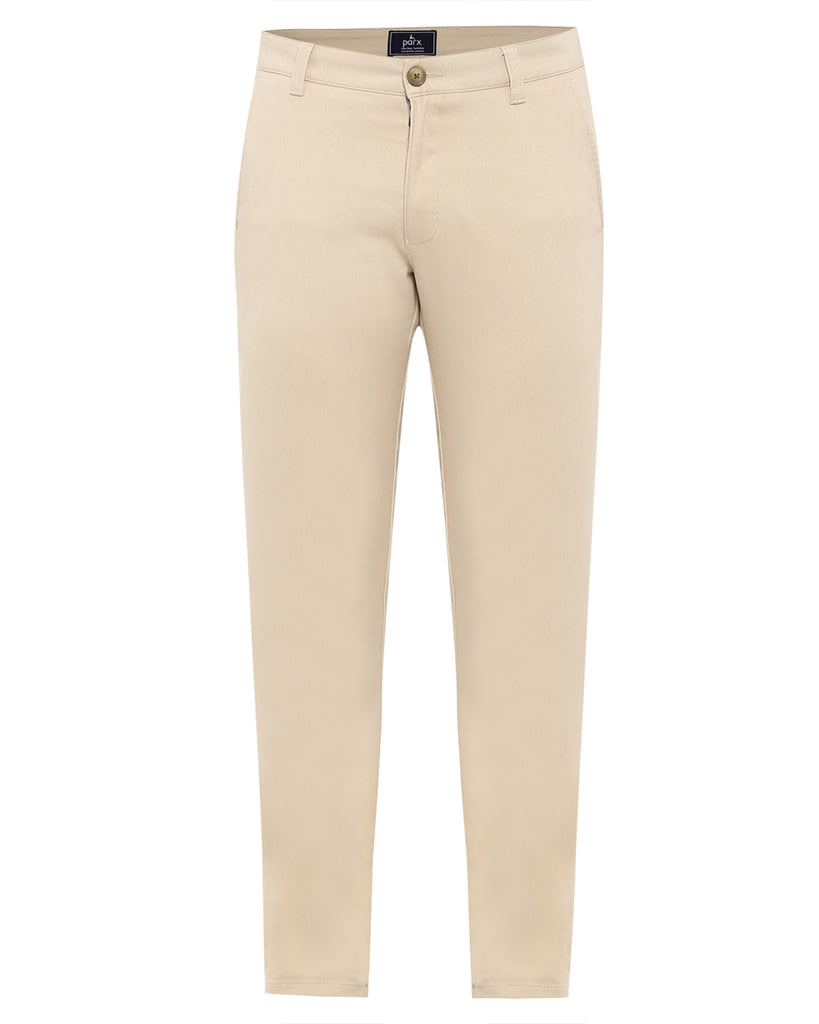 Parx Light Fawn Tapered Fit Trouser