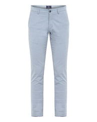 Parx Blue Low Rise Tapered  Trouser
