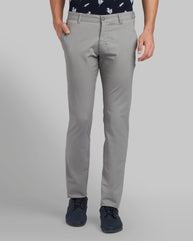 Parx Medium Grey Tapered Fit Trouser