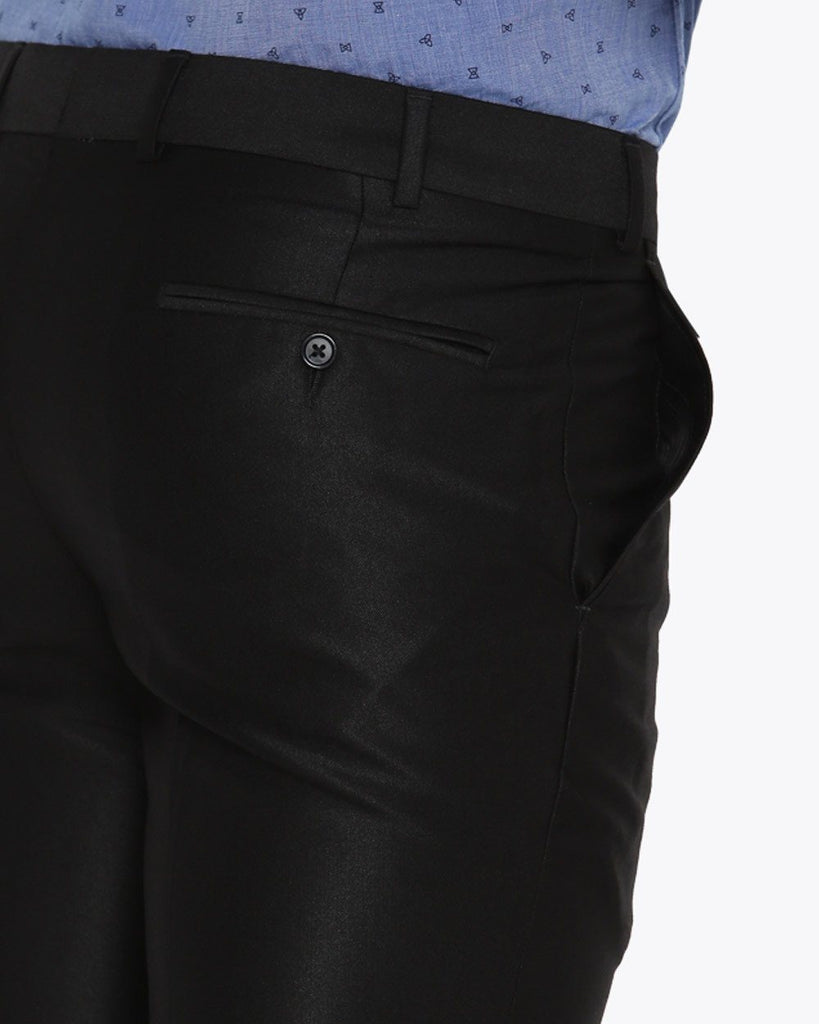 Parx Black Urban Fit Trouser