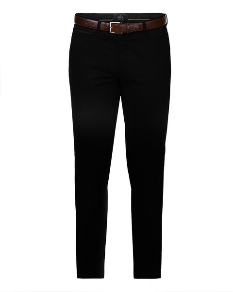 Parx Black Super Slim Fit Trouser